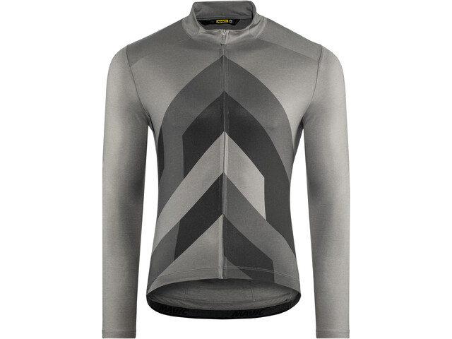 autumn shoes delicate colors crazy price Mavic Cosmic Graphic LS Jersey Men smoked pearl